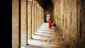 persoon die leeft volgens het boeddhisme